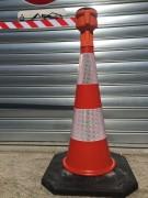 Enrouleur pour cône signalétique - Sangle (m) : 9