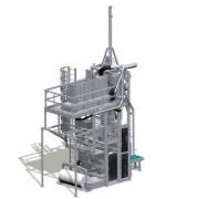 Ensacheuse verticale 5 sacs par minute - Ensacheuse par compression Jusqu'à 5 sacs/min