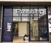 Enseigne lumineuse pour pressing - Fabrication d'enseignes pour des sociétés spécialisées dans le nettoyage de vêtements et le pressing