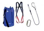 Ensemble kit de protection antichute - Mousquetons sécurité