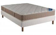 Ensemble Someo Matelas Chantilly Royal Sommier Villandry Pieds-140x190