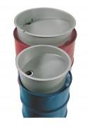 Entonnoir polyéthylène pour fût - Adapté aux fûts en acier - En polyester armé de fibre de verre