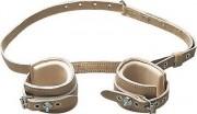 Entraves chevilles cuir - Courroies d'attaches réglables