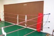 Entre-corde de ring de boxe