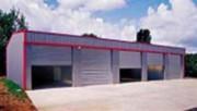 Entrepôt métallique de stockage - Conforme aux normes de sécurité en vigueur
