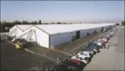 Entrepôts démontables - Acier - Dimensions (L x h) : 30 x 6 m
