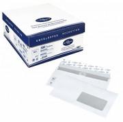 Enveloppe commerciale économique avec fenêtre - Format : 110 x 220 mm