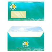 Enveloppe personnalisé - 4 tailles : 110x220 - 114x229 - 162x229 - 229x324 mm