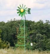 Eolienne d'aération plan d'eau - Aération : 4000 et 12000 m² - Personnalisable
