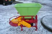 Épandeur de sel et sable - Dimension d'épandage (L): de 2 à 6 m - Charge utile : 600 kg
