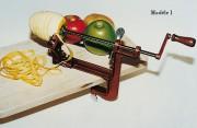 Eplucheur de pommes - Fixation : serre-joint ou ventouse