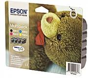 EPSON Multipack T061 composé de 1 cartouche noire et de 3 cartouches couleurs C13T061540A0 - Epson
