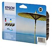 EPSON Pack de 4 cartouches couleurs jet d'encre C13T04454010 - Epson