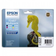 EPSON Pack de 6 cartouches couleurs jet d'encre C13ST0487401 - Epson