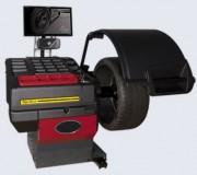 Équilibreuse électronique pour roues véhicules et motos - Cycle d'équilibrage automatique