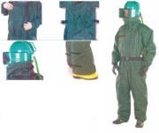 Equipement de protection individuelle - A100-CE /DEFENDER Sys EN ISO 14 877, EN 271 et EN 388.