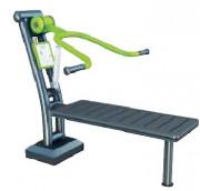 Équipement fitness extérieur - Équipements en aluminium ou en acier