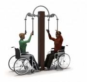 Equipement fitness outdoor pour PMR - Modules de fitness pour usage extérieur PMR