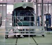 Escabeau d'accès pour pare-brise tram - Robustesse et de stabilité optimales