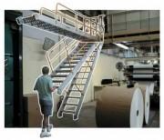 Escalier amovible - Largeur du passage : 600 mm, 800 mm