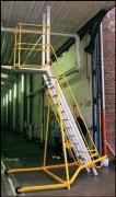 Escalier articulé - Charge : 350kg/m²