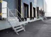 Escalier d'accès quai - Sur mesure