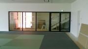 Escalier d'habitation sur mesure - En acier, inox et verre