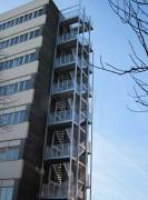 Escalier de secours selon code du travail - Escliers sur mesure aux normes