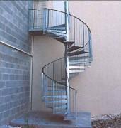 Escalier en colimaçon - Usage industrielle uniquement