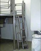Escalier ergonomique en inox