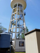 Escalier industriel pour cuve - Sur-mesure