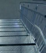 Escalier milieu scolaire