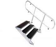 Escalier pour scène - Structure en tubes Aluminum