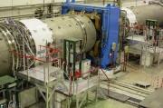 Escaliers à paliers d'accès machines - Accès accélérateur de particules - Palier en tôle aluminium larmée