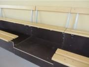 Escaliers d'accès 2 rangs - Matières : Métal poudré / Métal galvanisé, CTBX