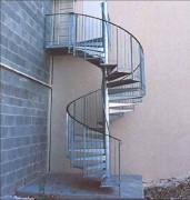 Escaliers hélicoïdaux - Extérieurs ou intérieurs