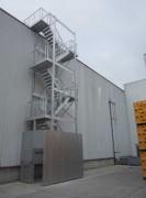 Escaliers industriels - Escalier d'accès technique
