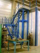 Escaliers métalliques industriels - En métal antidérapant