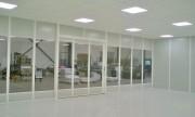 Espace de travail vitré - Cloison vitrée