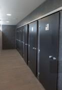 Espace déshabillage douche - Séparation déshabillage/douche pour cabines douches individuelles.