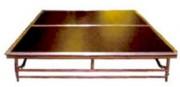 Estrade événementielle à plancher bois - Plancher bois MDF - Mobile ou pliante