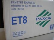 ET8 Film étiré manuel soufflé - Réf:53164