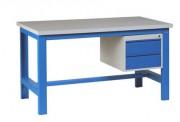 Établi 1000 kg avec 2 tiroirs - Capacité de charge : 1000 kg