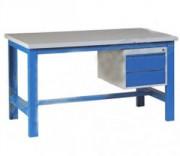 Etabli avec tiroir - Dimensions ( L x l) : de 1200 x 750 à 2000 x 750 mm