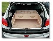 Etabli bois pour véhicule - Sur mesure