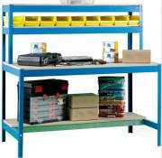 Etabli d'atelier en kit - Hauteur totale du meuble monté 1440 mm
