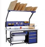 Etabli d'atelier personnalisé - Hauteur 2430 mm, Largeur 2000 mm