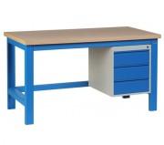 Établi de travail avec tiroirs - Dimension ext. L461 x P600 x H530 mm