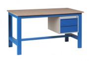 Établi industriel avec 2 tiroirs 1 T - Capacité de charge : 1000 kg