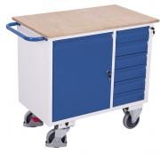 Etabli roulant à tiroirs - Capacité de charge : 400 Kg